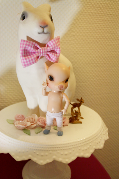 NOUVELLES PHOTOS de Sacha en bas de P1 (BJB cochon Elf Doll) 4924388069_7767e36241_o