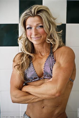 female bodybuilder Myra Marshall