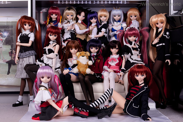 Dollfie Dream Daughters Grand Glorious Gathering Sixteen Daughters Version