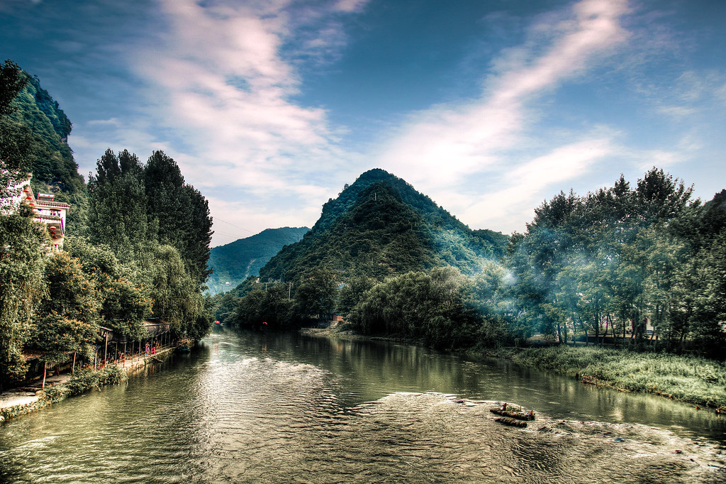 Xianhe River (An'kang) HDR