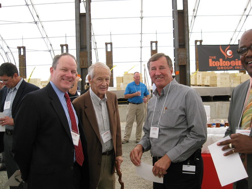 Mayor Mulligan, Dick Slagle, Bill Becker