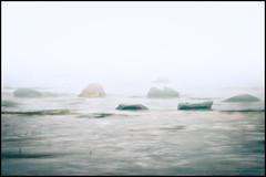 Sea Mist (Jonas Thomén) Tags: sea mist water fog rocks waves stones vatten hav dimma stenar vågor almostanything