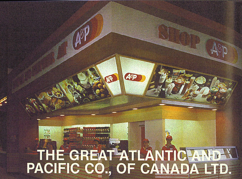 1980 CNE Food Building: A&P