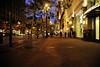 Market Street Night Shot ~ San Francisco, California (peterlfrench) Tags: sanfrancisco california city urban june cali dark nikon nightshot sanfran marketstreet westcoast sidewalks notripod 2010 nightynight urbannightshot streettree d700 dsc3410 pfrench99 plnz livingurbanism urbanstreettrees peterlfrench