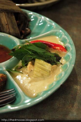 Jai Thai - Pineapple Rice Set : Green Curry