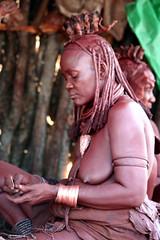 Old Himba (Tendancevasion) Tags: africa people african culture tribal safari afrika tribe ethnic namibia tribo himba afrique ethnology epupa tribu namibie tribus ethnie