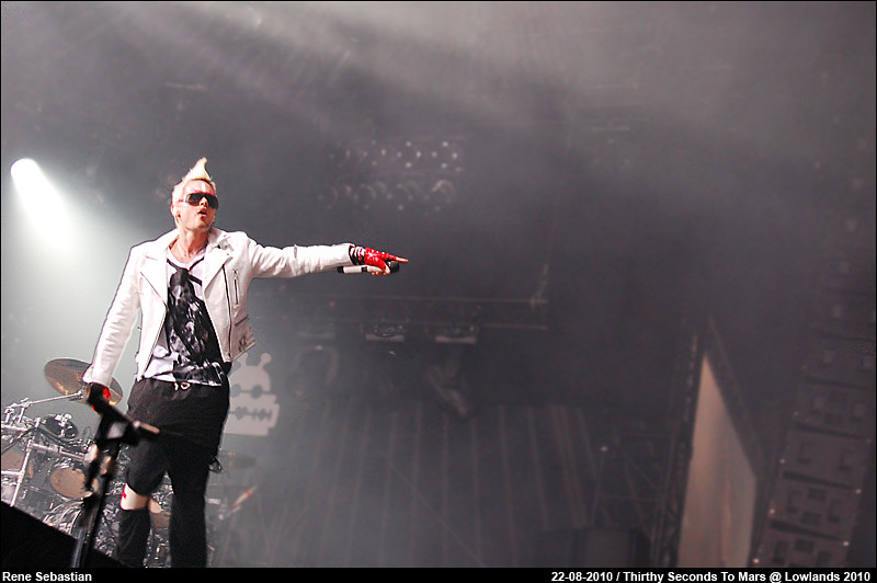 Thirthy Seconds To Mars @ Lowlands 2010