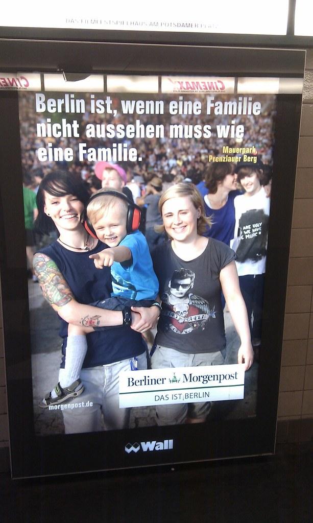 Berlin ist, wenn eine Familie nicht aussehen muss wie eine Familie