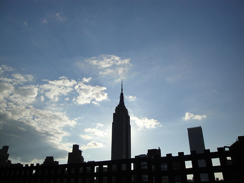 Empire State sky
