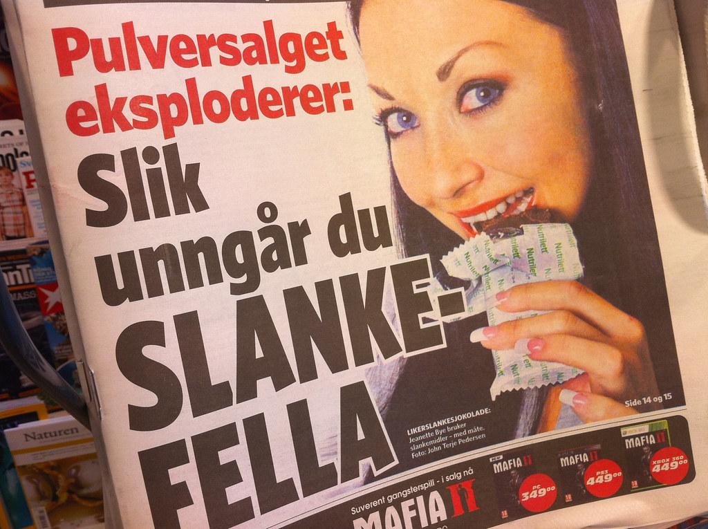 Slanketull i Dagbladet