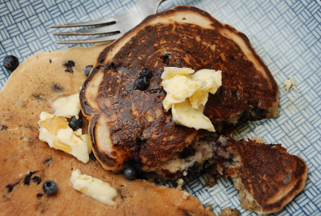 wild blueberry pancakes