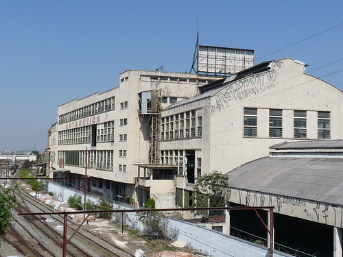 Antiga fábrica da Antarctica