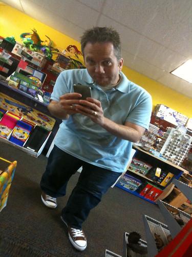 Me at Kazoodles