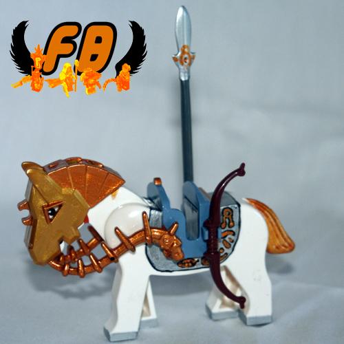 Lego Elven Mount custom minifig