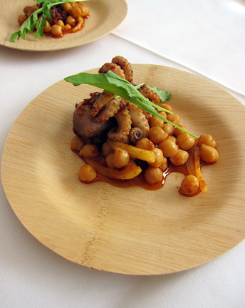 Marinated Octopus with Chickpeas