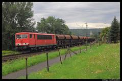 DBS 155 240 (Hugeau) Tags: holland train nederland eisenbahn rail cargo freight trein dbs treni railion schenker guterzug goederntrein dbschenker