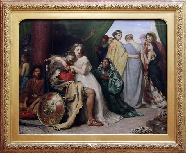 Jephthah - John Everett Millais, 1867