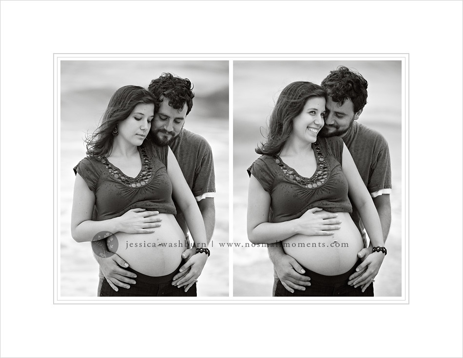 black-and-white-maternity-photography