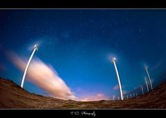 Stardust (iPh4n70M) Tags: brazil wheel night clouds vent photography photo nikon energy long exposure photographer photographie shot wind fisheye exposition photograph tc nikkor nuages 16mm nuit brésil photographe éolienne eol longue énergie nohdr souflle d700 tcphotography ph4n70m iph4n70m tcphotographie