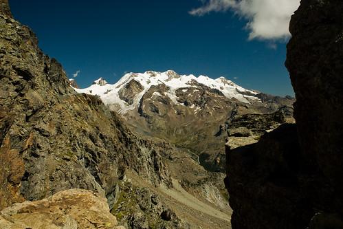 7. Verso nord, Monte Rosa