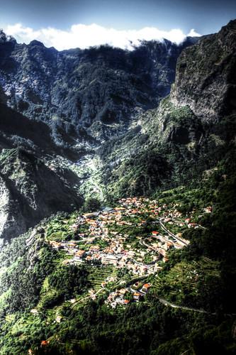 Curral das Freiras. Madeira, Portugal.