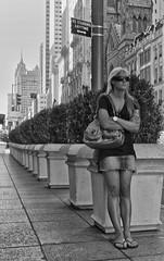 No Standing Anytime (CVerwaal) Tags: nyc newyorkcity girls newyork pen streetphotography olympus fifthavenue trafficsigns olympusep1 mzuiko17mmf28