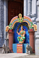 Maha Luxmi - Goddess of Wealth (Pic_Joy) Tags: religious singapore asia culture statues tradition basrelief   katong     vinayagar senpaga  srisenpagavinayagartemple  goddessofwealth ceylonroad mahaluxmi