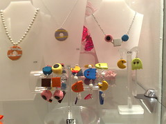 Jodie's in Argyle Arcades Juwelier Glasgow Engels Drop + Pacman