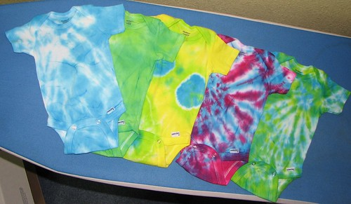 custom dyed onesies