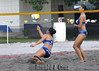 Angela Benting and Pau Soriano of Adamson University (arnold_cruz) Tags: beach volleyball uaap