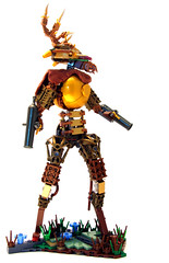Tyrant of the Glen (Sir Nadroj) Tags: robot punk lego steam glen monarch tyrant automaton steampunk