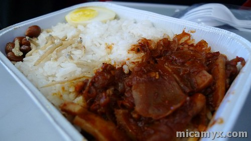 Meals served at AirAsia