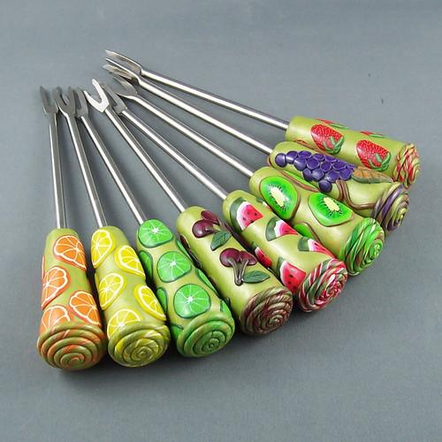 Dessert Fondue Forks