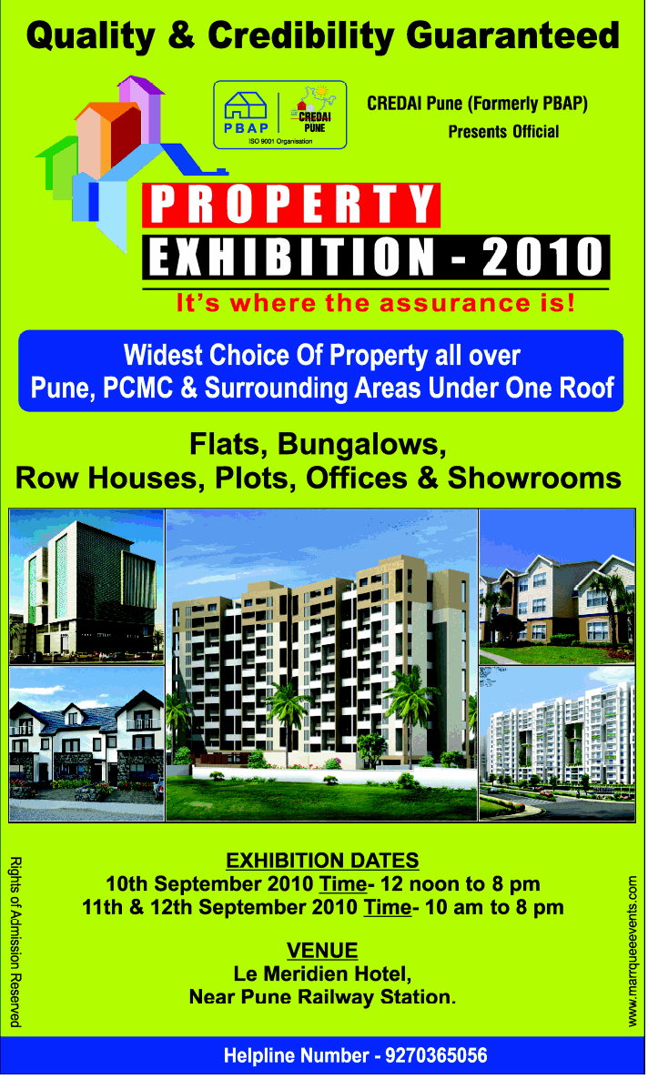 Credai Pune Property Exhibition