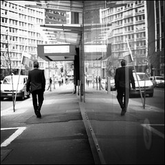 (Kenneth McNeil) Tags: street urban blackandwhite bw white black 120 6x6 mediumformat square sydney streetphotography documentary australia hasselblad squareformat medium format australien carlzeiss hasselblad500c planar80mm carlzeissplanar80mmf28 kennethmcneil