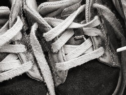 B's shoes
