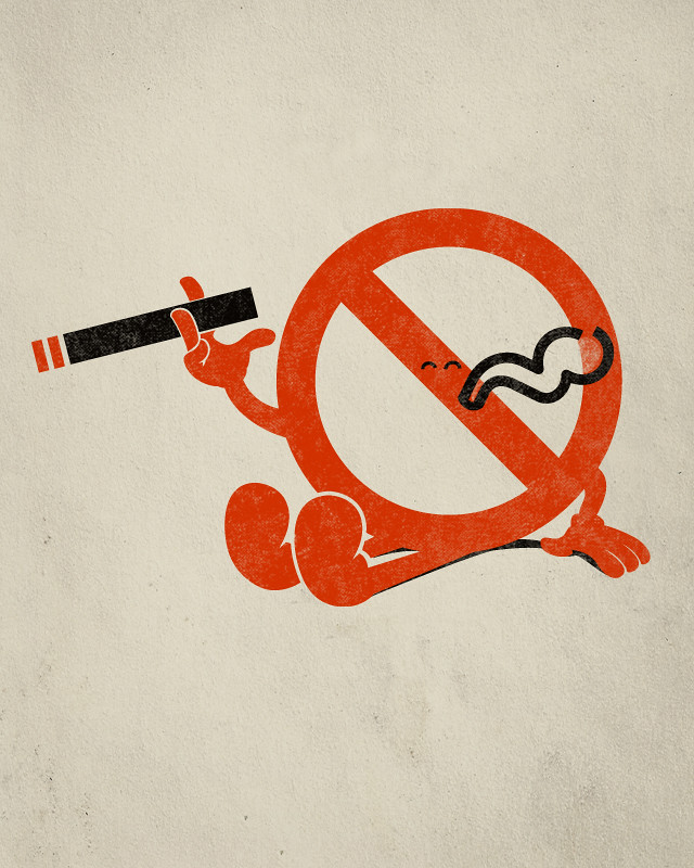 Картинки против курения с приколами