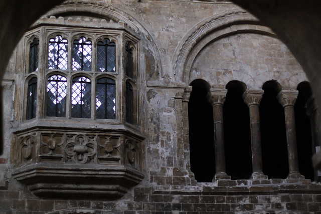 Prior Bolton's oriel window