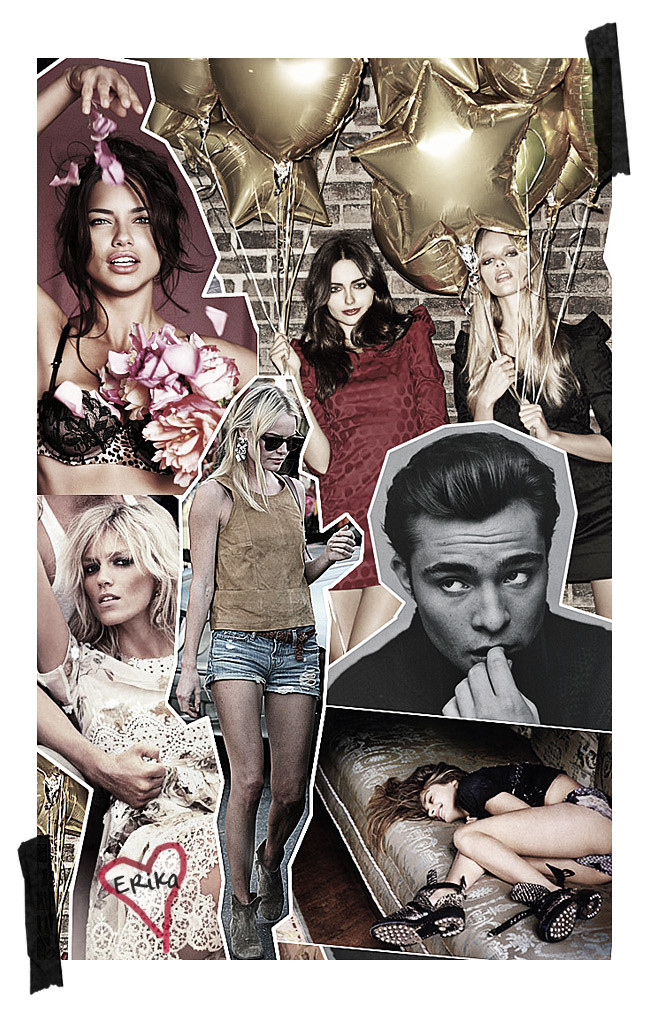 Anja Rubik, Chuck Bass, Adriana Lima, Kate Bosworth, Fashion Inspiration