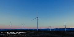 Wind Turbine Farm - Ellensburg, Washington (Steve G. Bisig) Tags: washington power kittitascounty windturbine kittitasvalley haywardroad
