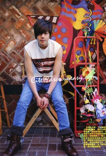 "Kim Hyun Joong ""Aloha"" Photobook Scans"