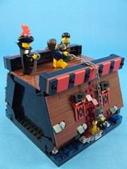 Keelhaul! (Shadow Viking) Tags: chains blood ship lego pirates gore arr barnacles hull mussels cornelius moc keelhaul foitsop forbiddencove jollyrogercontest jrc2 captaindarkstrom hansfaste rogertelchine stevenfaegus
