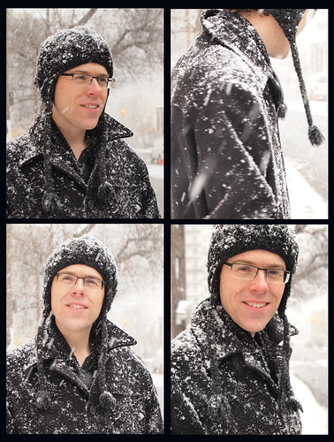 brian in the snow