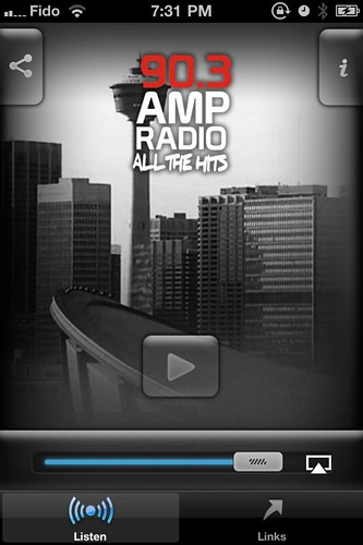 90.3 AMP Radio Calgary iPhone App