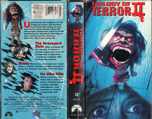 TRILOGY OF TERROR 2 (VHS Box Art)