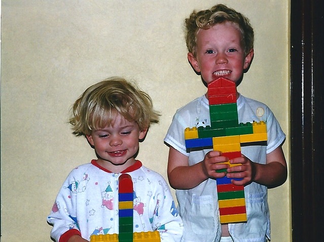 Lego rocket ships!