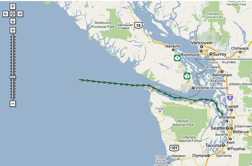 ship location5 getting closer