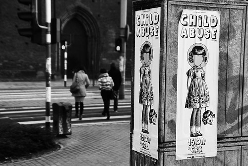 Poster against Child Abuse