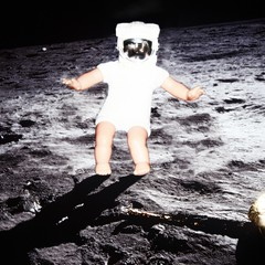 """That's one small step for a baby, a giant leap for mankind"" (Kelvin64) Tags: fiction sea baby moon man doll dolls mare babies action space tranquility neil astronaut joe 11 science nasa astronauts national program scifi spaceman mission moons programs missions administration apollo armstrong lunar gi aeronautics spacemen the tranquillitatis scifis"