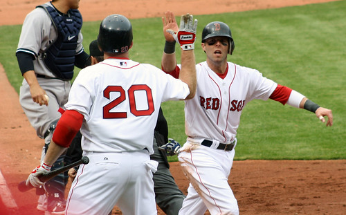 A resounding high-five with Youk